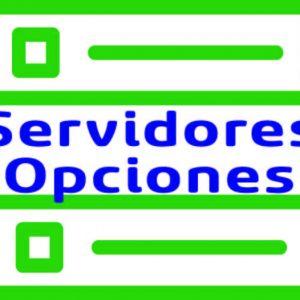 Opciones Servidor